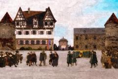 Überführung des Leichnahms von Johann-Moritz