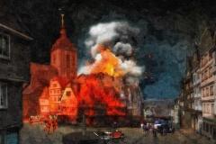 Der Brand des Klubbs 1869