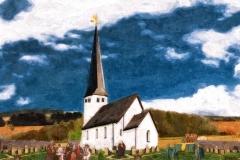 Ferndorf, Kirche und Friedhof