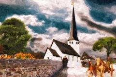 Ferndorf, Kirche vor 1887-1