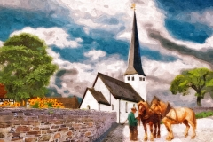 Ferndorf, Kirche vor 1887