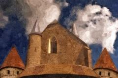 Martinikirche und große Bastion
