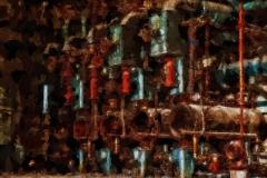 Stillgelegte Anlage Stahlwerk
