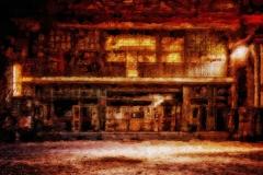 Verlassene Industrieanlage