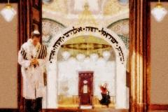 Synagoge-Blick von der Empore